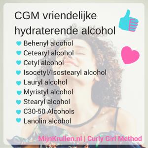 CG vriendelijke alcohol