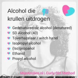 Niet CG vriendelijke alcohol