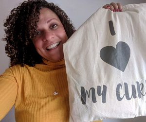 I love my curls tas mijnkrullen