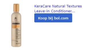leave in conditioner met argan olie voor haar